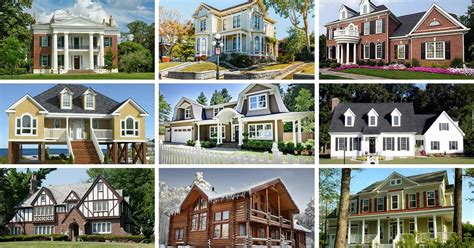 types of houses with pictures 32 types of architectural styles for the home modern