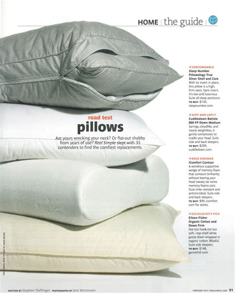 Real Goose Pillows the best pillows road tested the bedding snob
