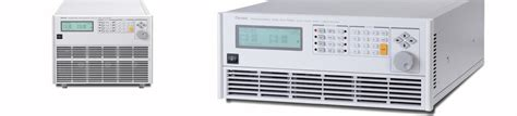 Ac Electronic Solution programmable ac electronic load 63800 chroma systems