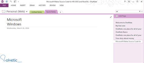 Windows 8 Onenote Tutorial   aprende a utilizar onenote en windows 8 solvetic