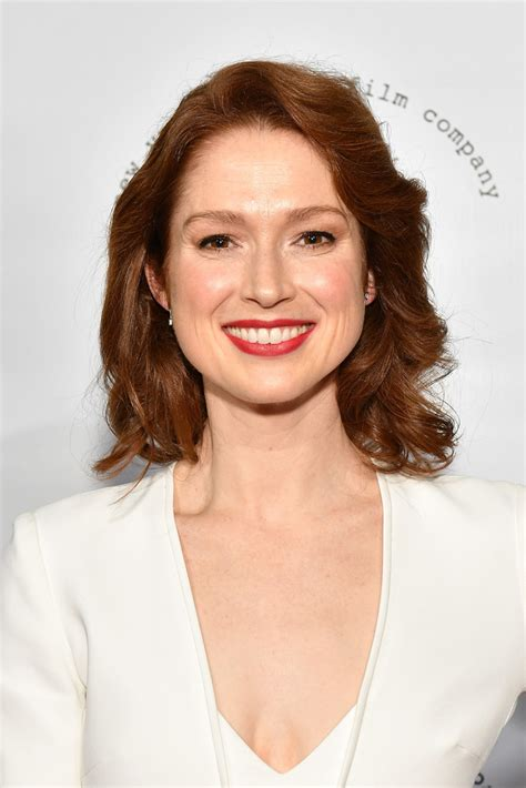 ellie kemper might need to steal her hair color lovely ellie kemper hair looks stylebistro