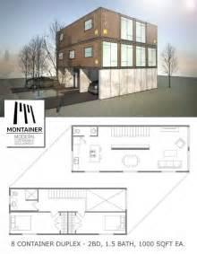 duplex house plans 1000 sq ft 8 container duplex 1000 sq ft each a parking spot