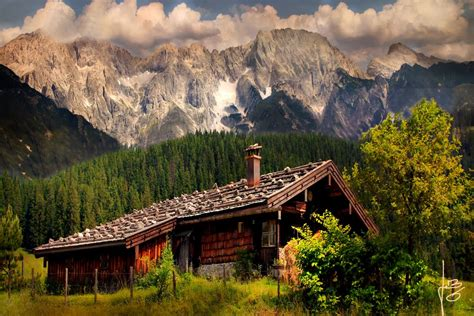 panoramio photo of lonesome cottage in the mountains