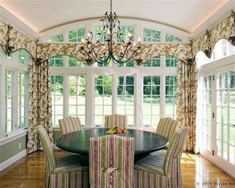 sunroom curtains window treatments sun room dining home
