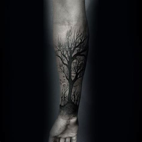 tattoo trends 60 forearm tree tattoo designs for men