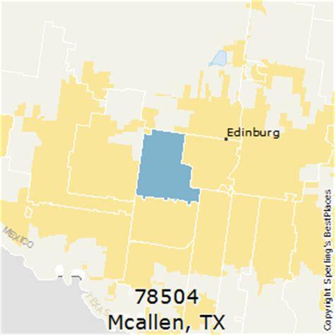 mcallen texas zip code map best places to live in mcallen zip 78504 texas
