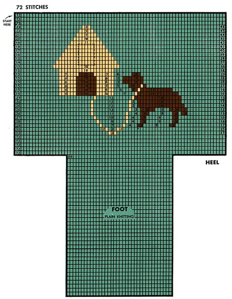 dog house patterns dog house socks pattern 7265 knitting patterns