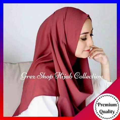 Jam Tangan Wanita Fila Yuppi Tosca daily khimar jilbab kerudung instan bergo jumbo