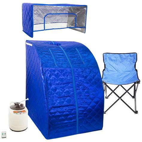 blue personal sauna  steam room wyz works