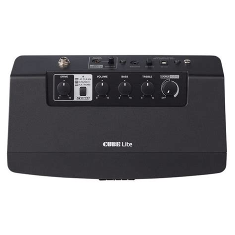 roland cube lite guitar lifier black nearly new at
