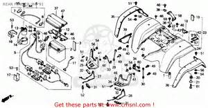 honda trx300 fourtrax 300 1990 usa rear fender 89 91_bighu0258f2101b_9a2b honda 300 fourtrax parts diagram on ford radio wiring diagram