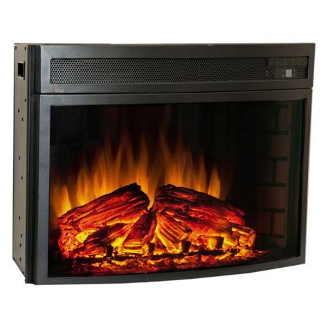 comfort smart verve 24 in curved electric fireplace insert