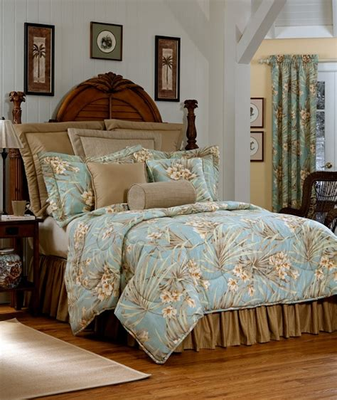 Blue California King Comforter by 4pc Wheat Light Blue Tropical Floral Design 100 Cotton