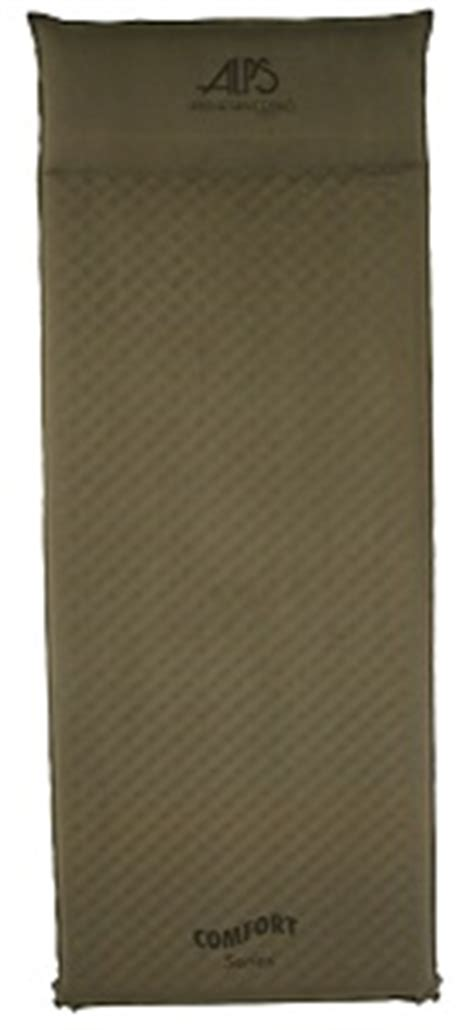 alps mountaineering comfort series air pad best rated inflatable sleeping pad and mats