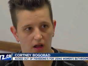 lesbians in restaurant bathroom detroit woman kicked out of restaurant bathroom for looking like a man sues