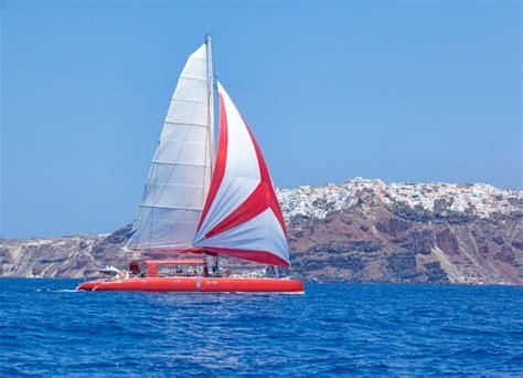 catamaran cruise crete aegean elegance greece luxury vacation package travelive