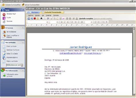 Plantilla De Curriculum Para Copiar Y Pegar Ejemplos Carta De Presentacion Curriculumfacil