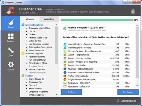ccleaner like software free ccleaner alternatives for windows alternativeto net