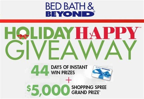 bed bath beyond holiday hours bed bath beyond holiday happy giveaway sweepstakesbible