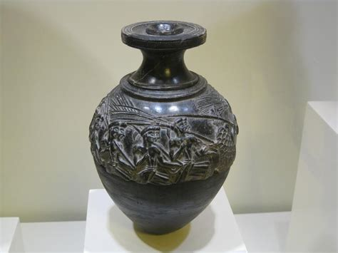 Harvester Vase by 2 History 2530 With Lazarevic At Rensselaer