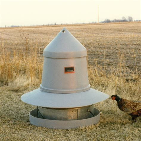 brower game bird feeder 125 pheasants single feeder