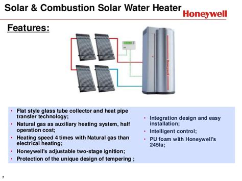 Solar Water Heater Honeywell 120816 Solar Products Overview Presentation Range