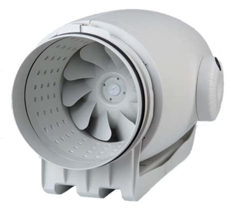 Td Silent 250 Bathroom Extractor Fan Kit Inline Extractor Fans Td Silent Acoustic Inline Mixed