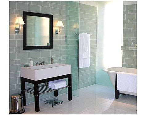 glass tile in bathroom flooring tiles mosaic tile buying tips