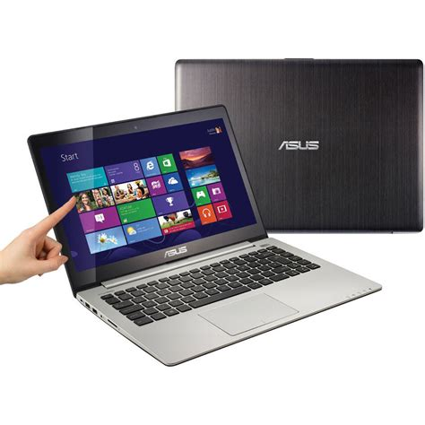 Laptop Asus Vivobook S400ca I3 Touchscreen asus vivobook s400ca db51t 14 quot multi touch s400ca db51t b h