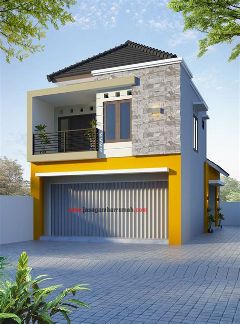 desain rumah ruko desain rumah minimalis ruko 2 lantai mabudi com