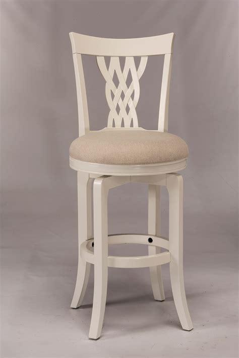 hillsdale embassy swivel counter stool white hd 5753 826