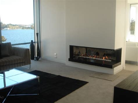Modern Corner Fireplaces modern and traditional fireplaces by warmington fires