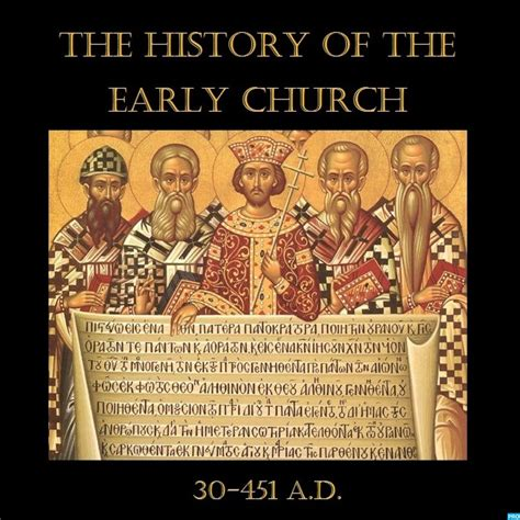 the historiography of the the history of the early church history podcasts