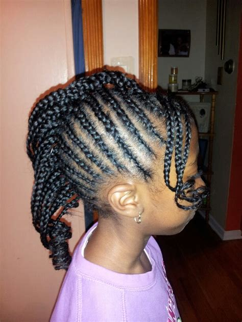 images of kids hair braiding in a mohalk braided mohawk side braids dreads twist pinterest
