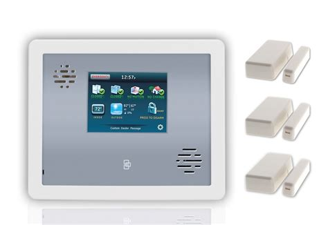 alarm home monitoring security sistems