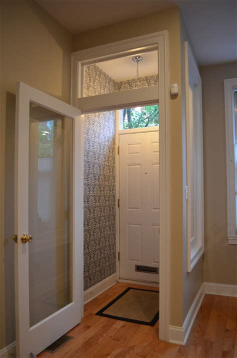 entry vestibule vestibule wallpaper traditional entry philadelphia