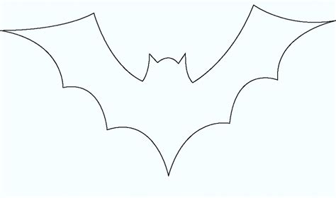 Printable Hanging Bat Template To Print For Kids