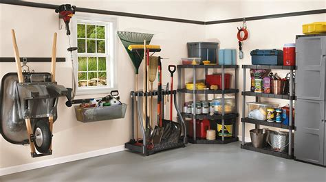 Shovel And Rake Storage Rack by Rubbermaid 40 Tool Shed Tower Rack Organizer Shovel Rake