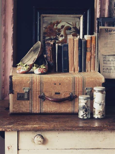 Vintage Suitcase Decor by Take 5 Vintage Vignettes Part 2 A For Suitcases