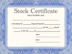 Certificate Template Ireland by Stock Certificate Template 21 Free Word Pdf