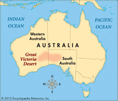 australian desert map encyclopedia children s homework help