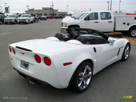 2011 corvette convertible 2011 arctic white chevrolet corvette grand sport