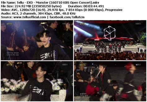 download perf exo lucky one monster mbc music core download perf exo lucky one monster kbs open