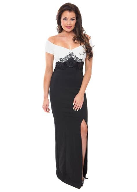 Samire Dress Black wright samira dress wright maxi dress