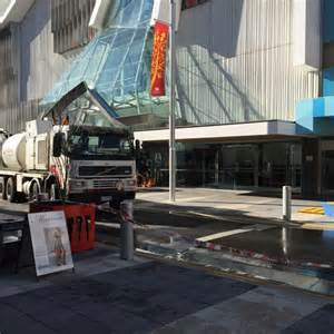 hobart s myer store flooding a disaster for cbd