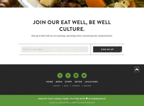 web layout header footer 15 tips for creating a great website footer efe