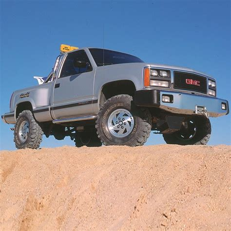 lift kits for gmc trucks superlift 4 quot 6 quot lift kit with bilstein shocks for 1993