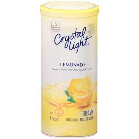 light drink mix lemonade 6 packets 3 2