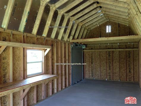 Roll Up Door For Shed by Mega Storage Sheds Options Roll Up Doors