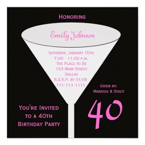 free 40th birthday invitations templates invitation templates 40th birthday